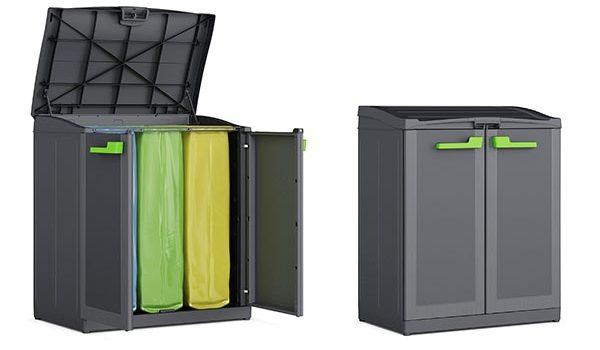contenitori raccolta differenziata da arredo